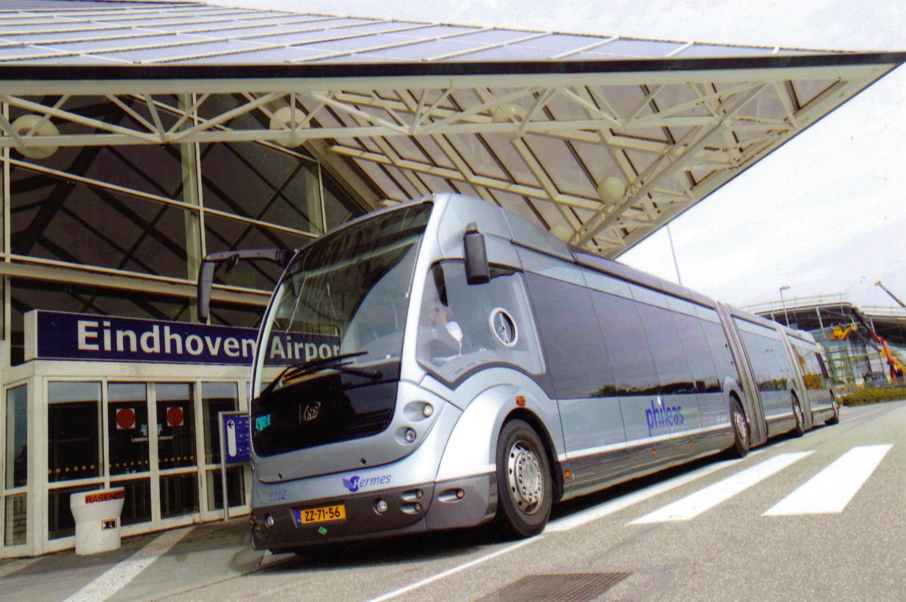 Shuttle bus parkeren